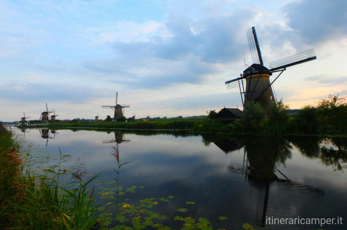 Viaggio in Olanda: i mulini di Kinderdijk
