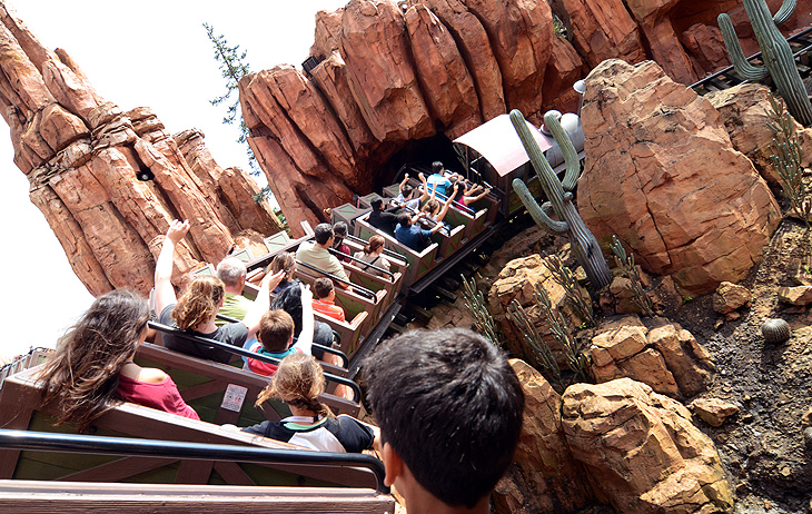Disneyland Paris: Big Thunder Mountain
