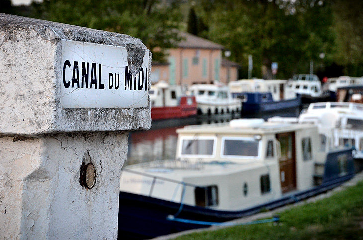 Capestang: Canal du Midi