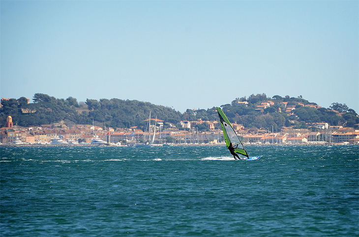 Saint-Tropez: Windsurf