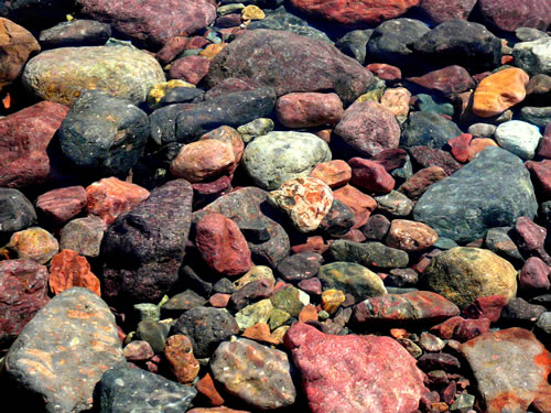 tuarelli pietre di fiume viaggio in corsica francia